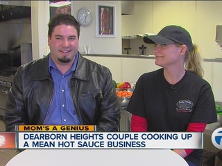 Mom's a Genius: Hot sauce company takes off!
