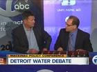 VIDEO: Detroit water debate on Mackinac