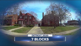 Detroit couple digs in despite rise in crime