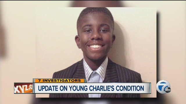 Update on young Charlies condition