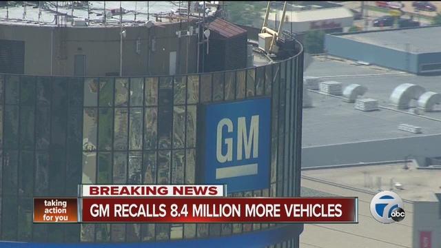 General motors is recalling another 8 million vehicles for General motors vehicle recalls