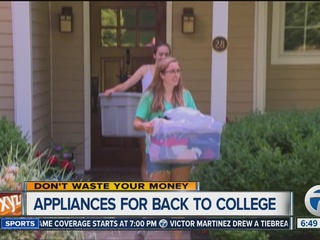 Back-to-school appliances for college students