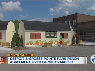 Cities reach agreement over farmer's market