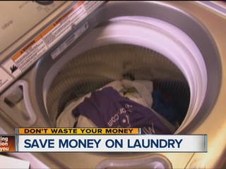 Save money on laundry