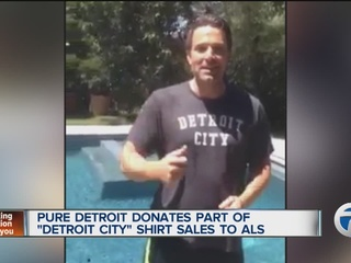 Pure Detroit donates shirt proceeds to ALS fund