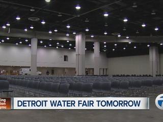 Detroit holding water fair at Cobo on Saturday