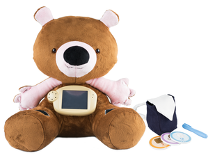 Jerry the Bear can help kids manage diabetes