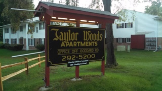 Apartment unit burned in Taylor fire