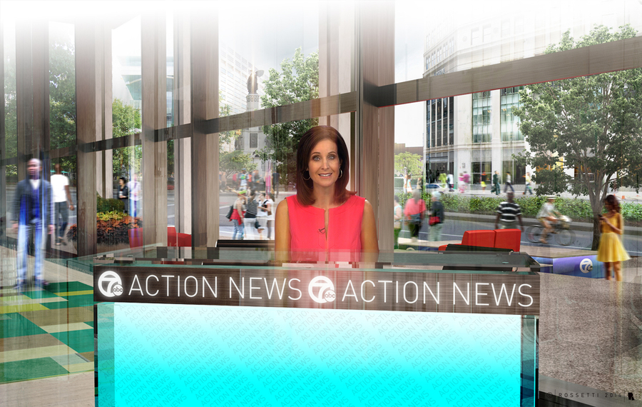 Wxyz Tv To Expand With New Studio In The Heart Of Downtown Detroit Inside Chase Tower