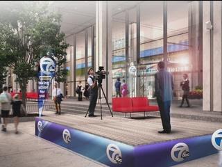WXYZ downtown Detroit studio construction begins