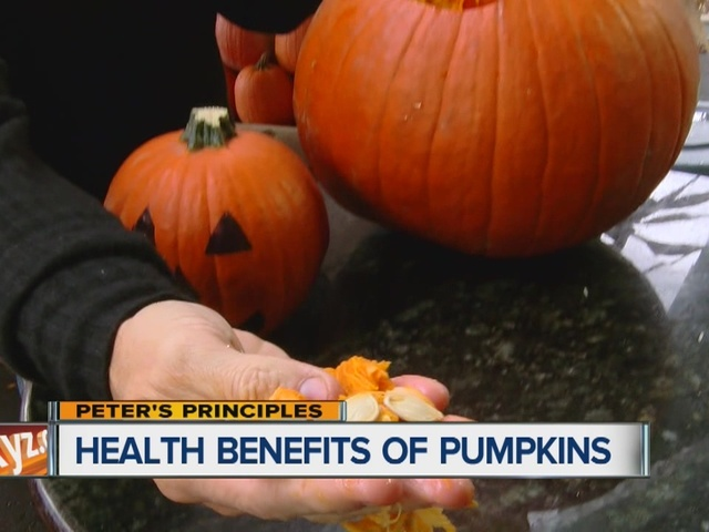 Peter's Principles, health benefits of pumpkin