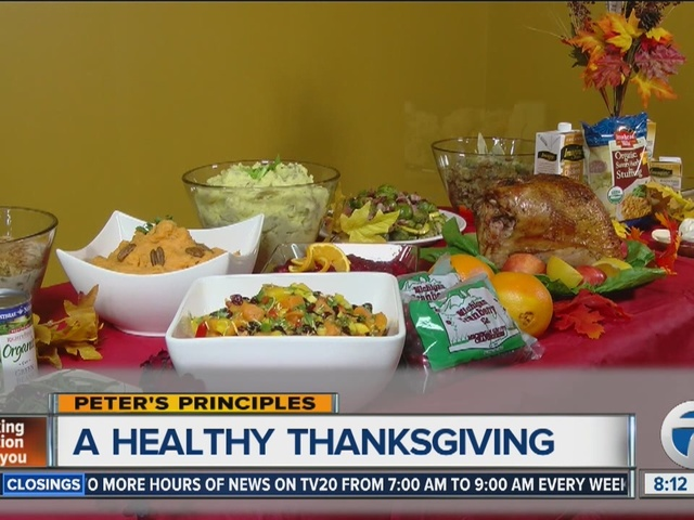 Peter's Principles, a healthy Thanksgiving