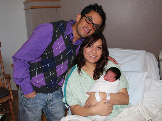 Michigan's 1st baby of 2015 born at Henry Ford Wyandotte Hospital at 7 ...