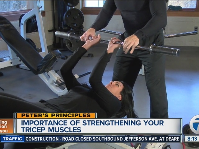 Peter's Principles, strengthening your triceps