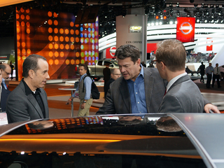 PHOTOS: Comedian Jerry Seinfeld at the Auto Show