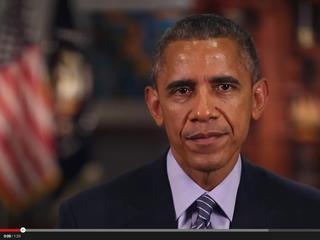 Obama, Grammy artists address domestic violence