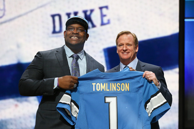 Lions trade OL Laken Tomlinson to 49ers