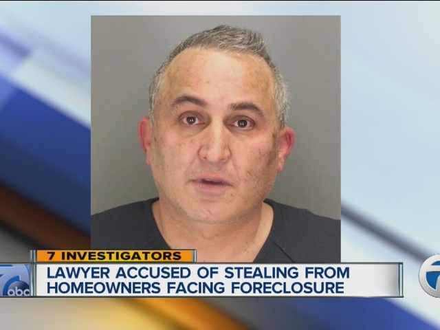 Attorney Steven Ruza charged with stealing money from families facing foreclosure - WXYZ