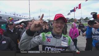 Bourdais wins race two at the Detroit Grand Prix
