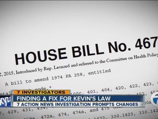 Mental health bill moving through Lansing