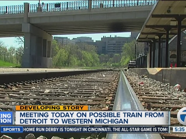 Possible Detroit To Holland Train Service