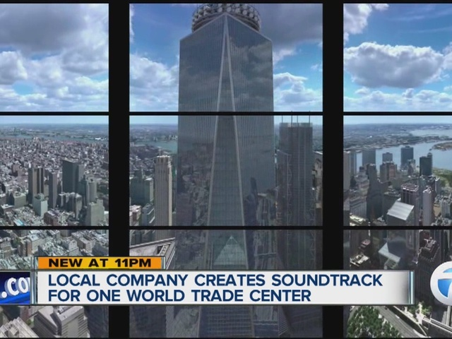 Local music company provides all music & sound at One World Trade Center
