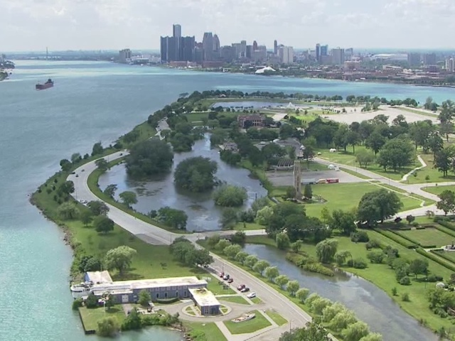 Coast Guard Searching For Missing Swimmer Off Belle Isle