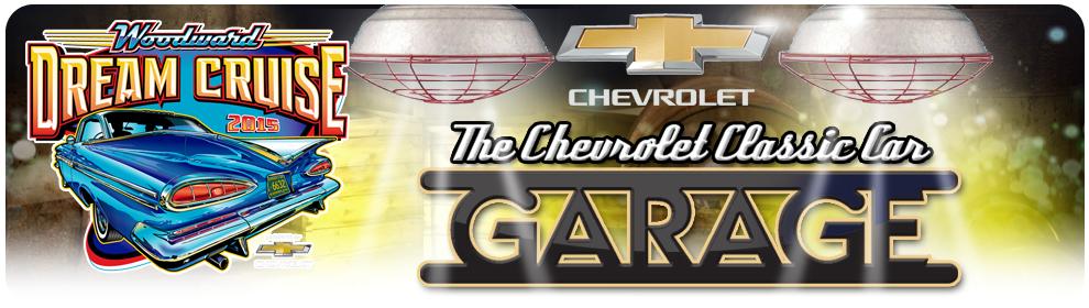Woodward Dream Cruise - Chevrolet Classic Car Garage