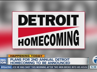 Editorial: Detroit Homecoming aims high!