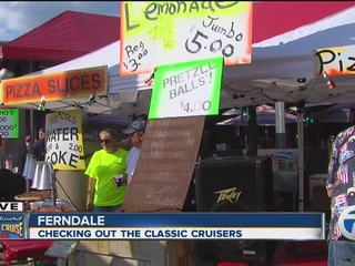 Como's in Ferndale ready for Dream Cruise