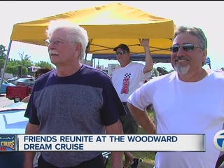 Old friends reconnect over Dream Cruise
