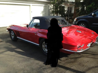 Red 1966 Corvette stolen from Dream Cruise