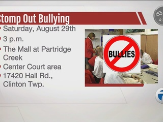Help stomp out bullying at Partridge Creek