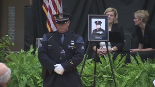PHOTOS: Funeral for MSP Trooper Chad Wolf