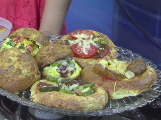 Back to School: Gougere Pizza from Elwin & Co.
