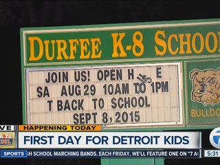 Students across MI head back to school today