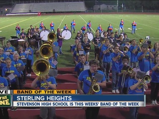 BAND OF THE WEEK: Stevenson High School