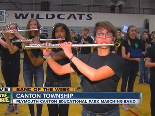 BAND OF THE WEEK: Plymouth-Canton marching band