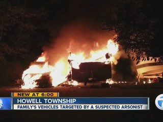 Suspected arson shatters family's security