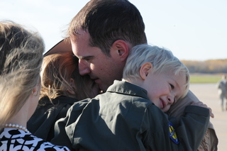 PHOTOS: Airmen return home to Selfridge