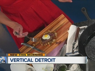 RECIPE: Steak and eggs from Vertical Detroit
