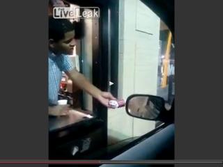 Detroit McDonald's employee tricks homeless man