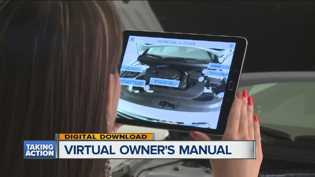 Model Hyundai Launching Augmented Reality Owner39s Manual App