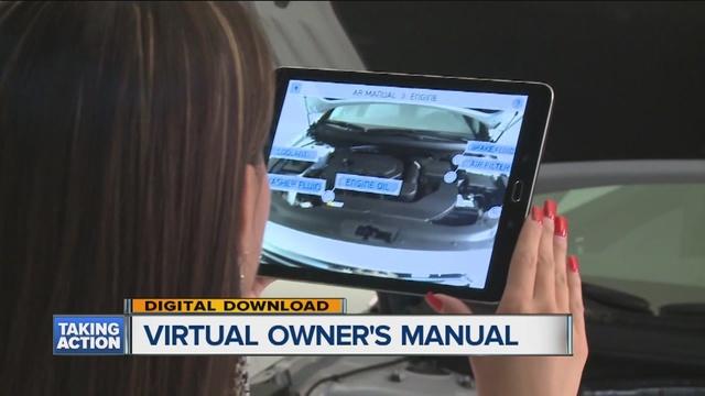 Model Hyundai Launching Augmented Reality Owner39s Manual App