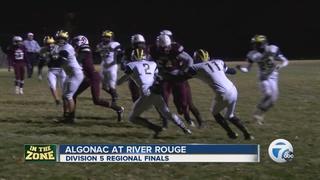 River Rouge rolls Algonac in regionals