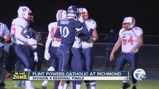Flint Powers Catholic tops Richmond in regionals