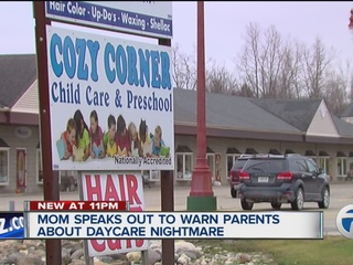 Local mom finds a daycare nightmare