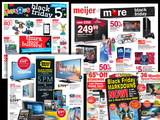 BLACK FRIDAY DEALS View ALL Of The Ads From Stores Like Best Buy - Toys r us black friday store map 2016