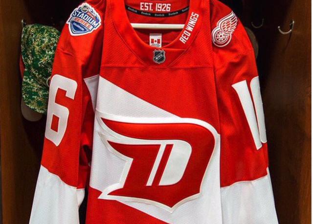 Detroit Red Wings D Jersey