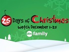 FULL SCHEDULE: ABC Family's 25 Days of Christmas